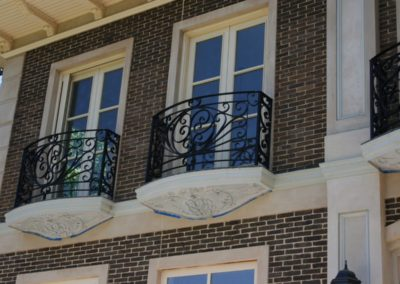 three-highly-decorative-victorian-design-balustrades-installed-on-3-first-floor-curved-balconies-in-country-south-australia